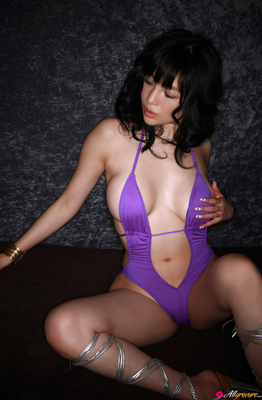 Busty Oriental Dreamdoll Yuuri Morishita Via AllGravure - 03