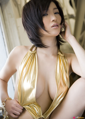 Busty Oriental Dreamdoll Yuuri Morishita Via AllGravure - 05