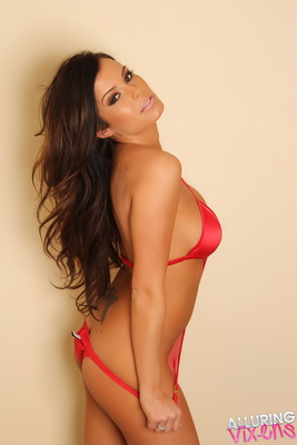 Candace in Red Love for Alluring Vixen - 02