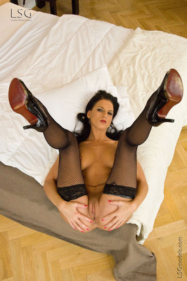 Lovely Walleria with her dildo - 06