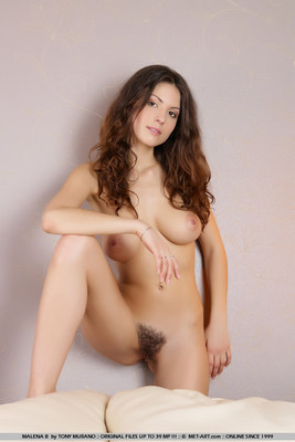Beautiful Tits And Hairy Pussy - 08