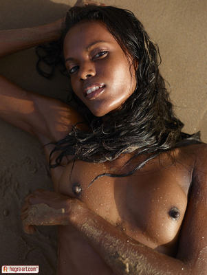 Valerie Lif is a Beach for Hegre Art - 11