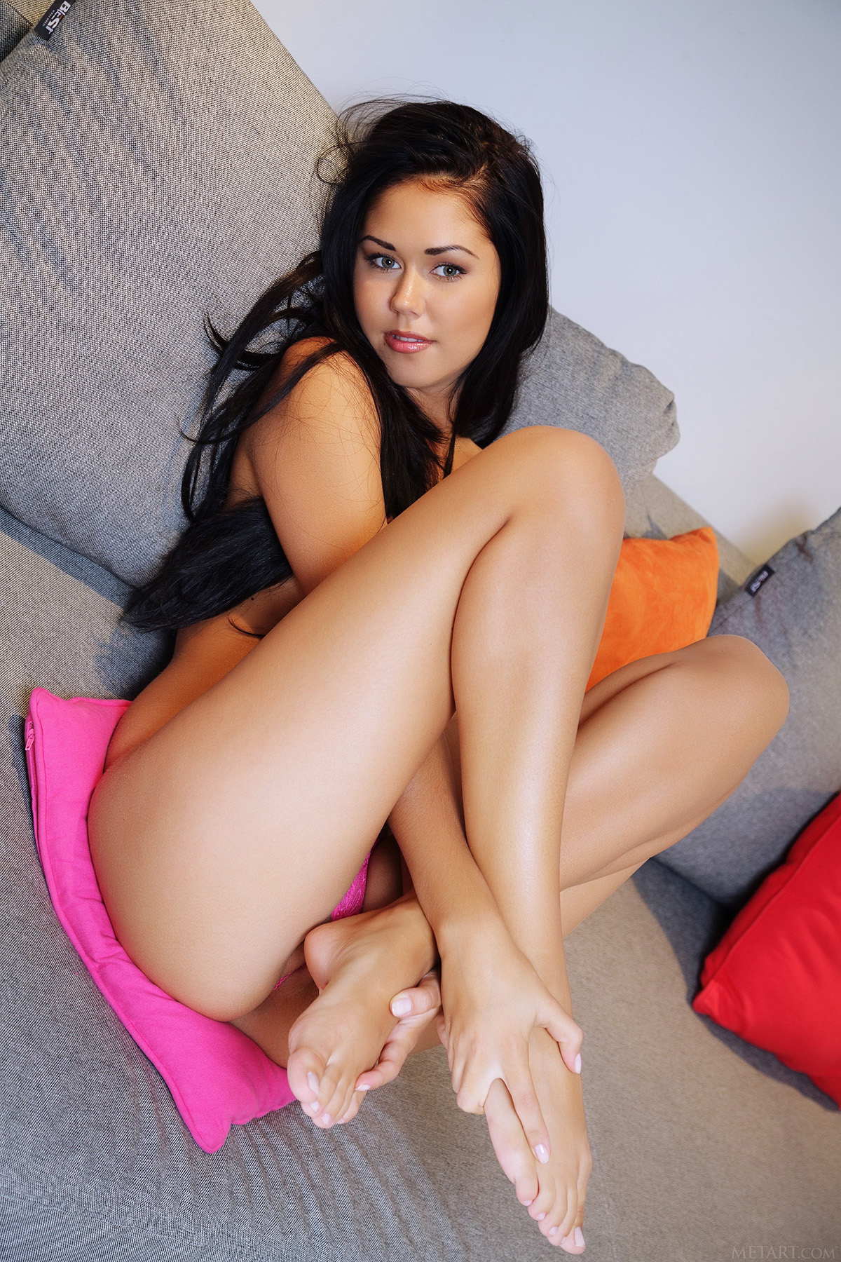 Lovely Little Macy B Exposing Her Beautiful Body and Showing Her Perfect Pink Pussy via Met-Art - 08