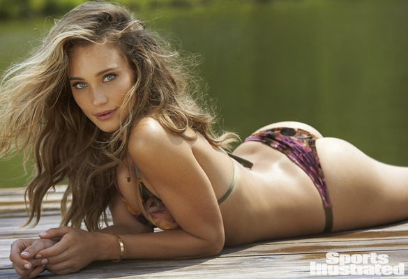 Blonde Angel Hannah Davis Via Swimsuit Issue - 01