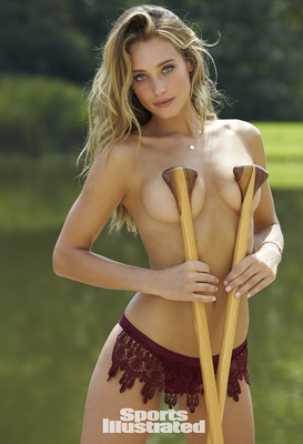Blonde Angel Hannah Davis Via Swimsuit Issue - 02