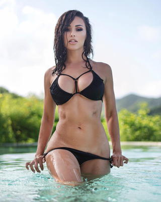 Best Of Busty Brunette Ana Cheri 2017 - 00
