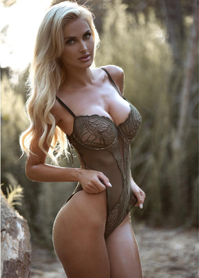 Busty Ukrainian Blondie Leanna Bartlett - 11