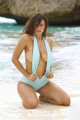 Myla Dalbesio Topless In The Swimsuit Issue 2017 - 09