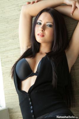 Natasha Belle in Tight Black Pants - 14