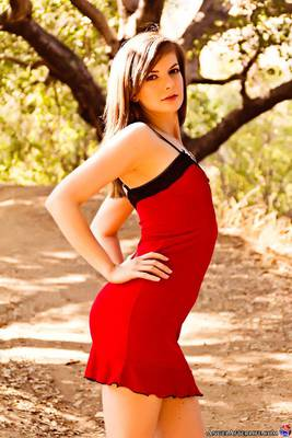 Phoebe Lamour in Lady In Red for Angel Afterlife - 00