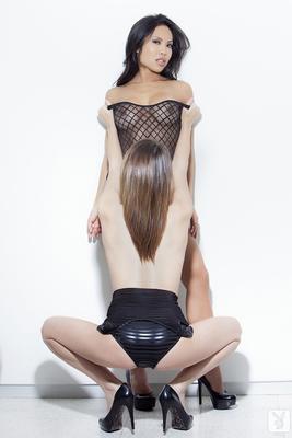 Thuy Li and Terri Hammer Dual Pleasure for Playboy Plus - 11