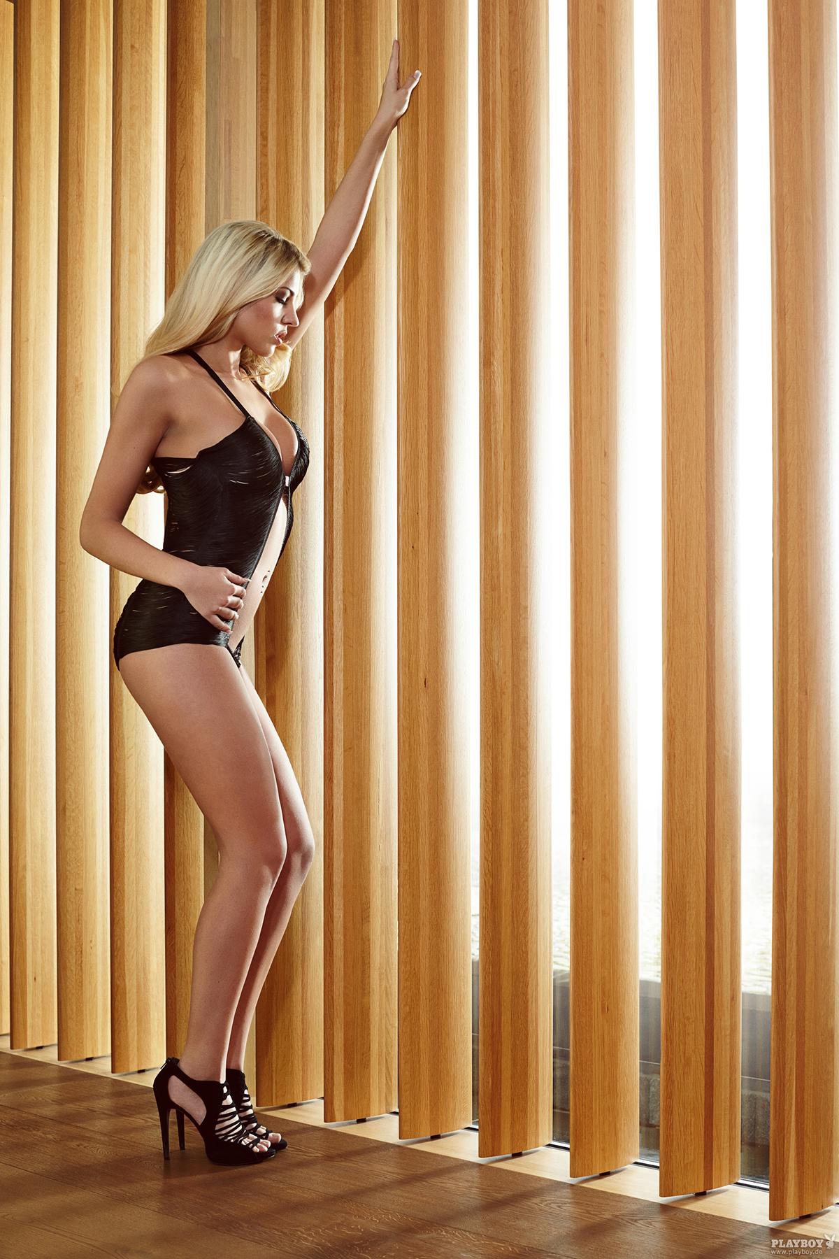 Busty Blonde Sarah Nowak Via Playboy DE - 04