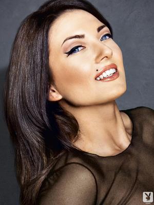 Slovenian Sara Merčnik Via Playboy - 00