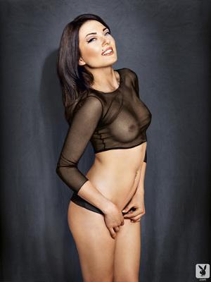 Slovenian Sara Merčnik Via Playboy - 02