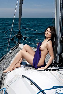 Slovenian Sara Merčnik Via Playboy - 04