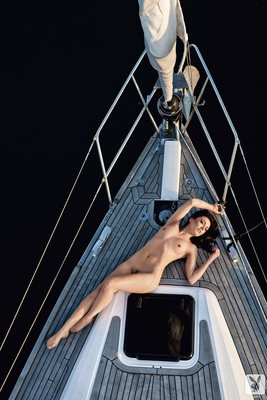 Slovenian Sara Merčnik Via Playboy - 09