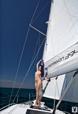 Slovenian Sara Merčnik Via Playboy - 12