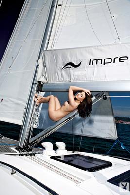 Slovenian Sara Merčnik Via Playboy - 13