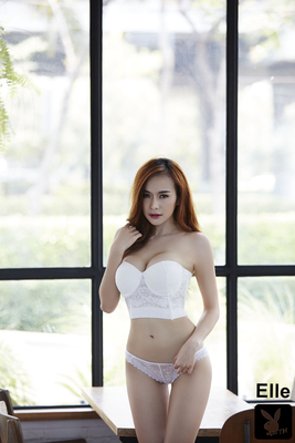 Gorgeous Thai Playmate Elle Via Playboy - 03