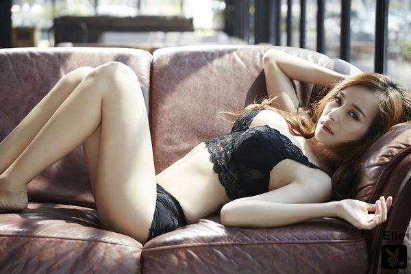 Gorgeous Thai Playmate Elle Via Playboy - 06