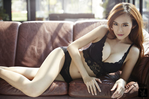 Gorgeous Thai Playmate Elle Via Playboy - 09