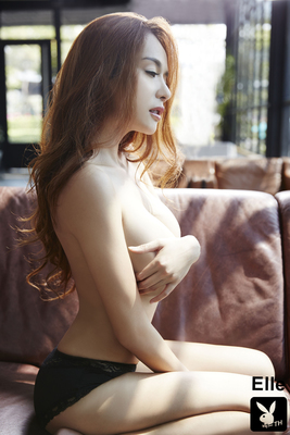 Gorgeous Thai Playmate Elle Via Playboy - 11