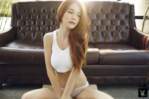 Gorgeous Thai Playmate Elle Via Playboy - 13