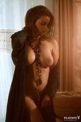 Busty German Playmate Ronja Forcher Via Playboy - 10