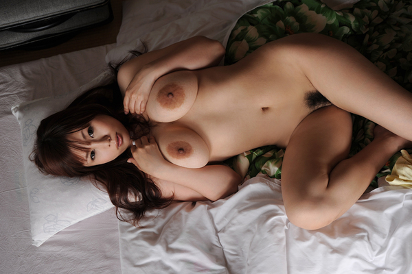 Japanese AV Model Kanon Ohzora Exposing her Floppy Tits for SexAsian18 - 05