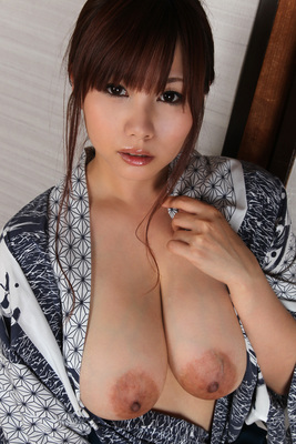 Japanese AV Model Kanon Ohzora Exposing her Floppy Tits for SexAsian18 - 06