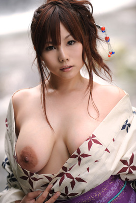 Japanese AV Model Kanon Ohzora Exposing her Floppy Tits for SexAsian18 - 11