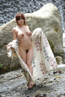 Japanese AV Model Kanon Ohzora Exposing her Floppy Tits for SexAsian18 - 13