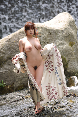 Japanese AV Model Kanon Ohzora Exposing her Floppy Tits for SexAsian18 - 14