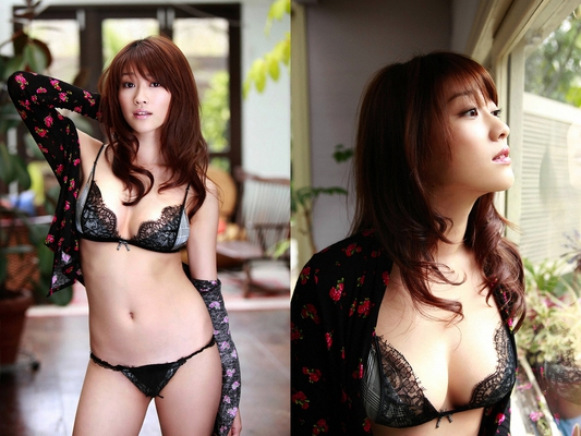 Pretty Japanese AV Model Mikie Hara for SexAsian18 - 02