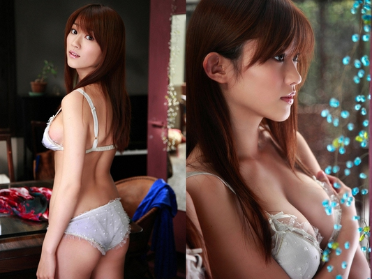 Pretty Japanese AV Model Mikie Hara for SexAsian18 - 12
