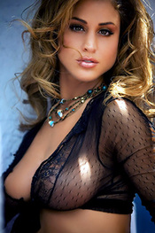 Rebecca DiPietro Sultry Cowgirl with Bigger Boobs for Mystique Magazine