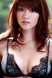 Pretty Japanese AV Model Mikie Hara for SexAsian18