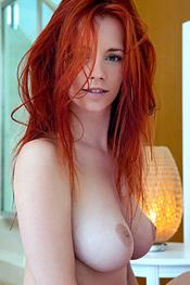 Busty Redhead Goddess Ariel for Femjoy