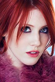 Sexy Redhead Babe Elle Alexandra for Playboy