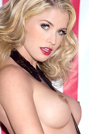 Curly Carly Lauren for Playboy