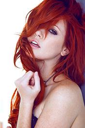 Redhead Goddess Elle Alexandra Spreads Her Pussy For Playboy
