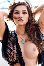 Curvy Chelsie Aryn Is Miss March 2015 At Playboy