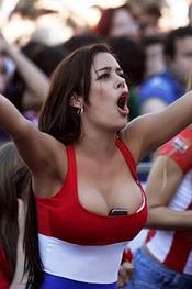 Larissa Riquelme amazing tits