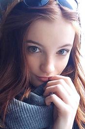 Redhead Beauty Hannah Masi