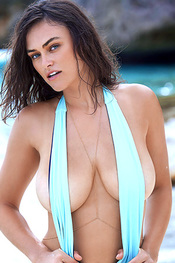 Myla Dalbesio Topless In The Swimsuit Issue 2017