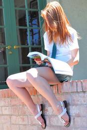 Lacie Schoolgirl in Green for FTV Girls