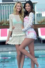 Candice and Miranda for The Celeb Matrix
