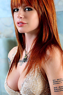 Vice The Redheaded Devilwoman For SuicideGirls