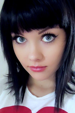 Beautiful Tattood Teen Mellisa Clarke has Cute Top and Panties