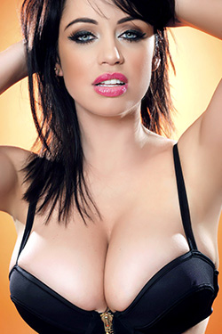 Busty Brunette Sophie Howard Awesome Nuts Magazine Outtakes